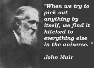 John muir famous quotes 5
