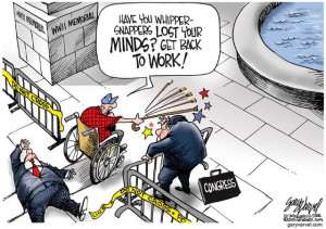 Cartoonist Gary Varvel: WWII Memorial, Veterans and political games