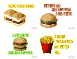 Cute fast food quotes. #fries #hamburger #funny