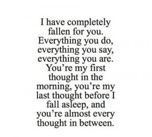 Your My Everything Quotes For Him Quotesgram