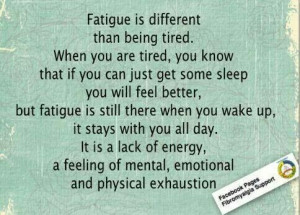 Chronic Fatigue Syndrome sucks