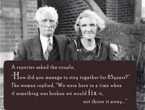 The Secret to a Long-Lasting Marriage