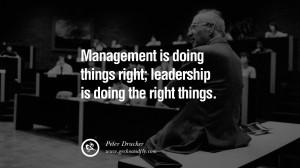 Motivational Quotes on Management Leadership style skills Management ...