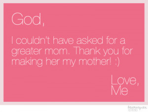 Thank You Mom Quotes color pictures e38587 color