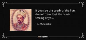 Al-Mutanabbi Quotes