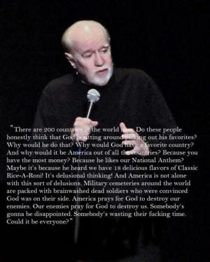 Atheism george carlin