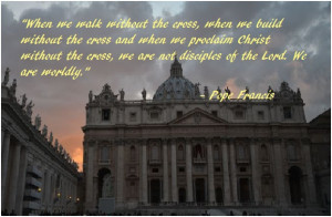 Pope Francis quote..love.