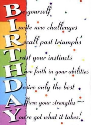 Birthday quotes pictures Pictures, Images and Photos