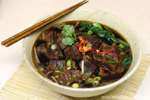Baby It's Cold Outside - Red Braised Beef Brisket Noodles Soup ...