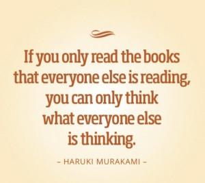 Haruki Murakami quote :)