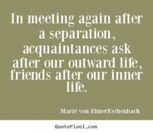 Friendship Separation Quotes