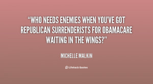 Who needs enemies when you've got Republican Surrenderists for ...