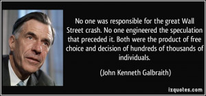 Wall Street Quotes Great wall street crash.