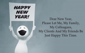 Funny Happy New Year Quotes HD Wallpapers