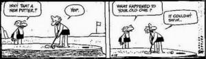 funny golf cartoon joke picture