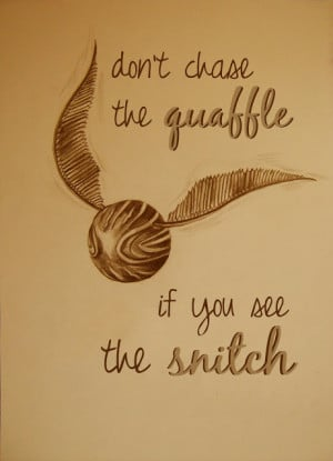 So I found a beautiful snitch drawing on Deviant Art and had some fun ...