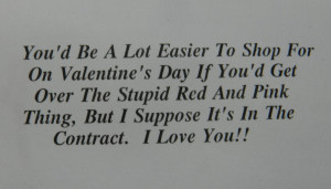 Displaying 19> Images For - I Hate Valentines Day Quotes...