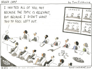 ... in Inc. magazine on dysfunctional communication in growing companies
