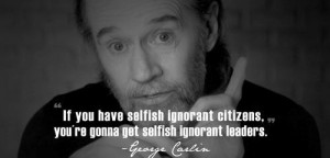 George carlin famous quotes and sayings people life