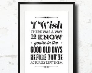 Print, The Office Quote, TV Quote, Andy Bernard, The Office TV Show ...