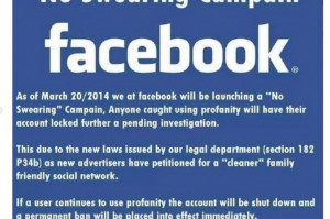 No Swearing' Campaign on Facebook is a Hoax; Mark Zuckerberg Not ...
