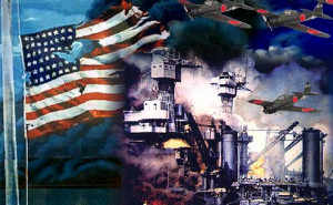 """... Pearl Harbor and Franklin Delano Roosevelt's famous """"day of"""