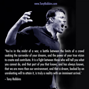 Anthony Robbins Picture Quotes