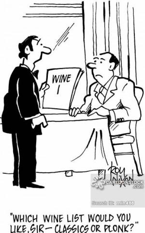 wine waiters cartoons, wine waiters cartoon, funny, wine waiters ...