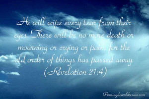 Below are some of my favorite verses on grief and sorrow.
