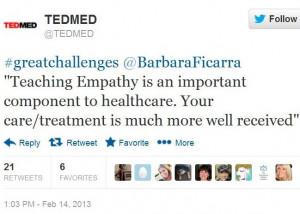 TEDMED Great Challenges: Improving Medical Communication