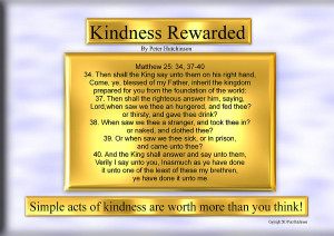 Kindness Rewarded Digital Art...