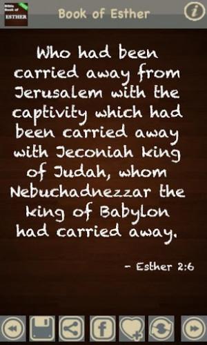 Esther Bible Quotes Quotesgram