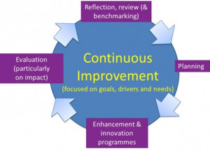 Adopting an institutional Continuous Improvement approach