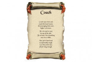 Coach Poem Personalized Brand New