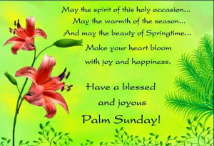 Happy Palm Sunday Wishes Quotes Messages Whatsapp status