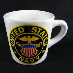 navy mug Cup American flag diner mug united state
