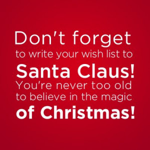 ... you re never too old to believe in the # magic of # christmas