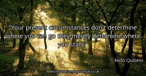 your-present-circumstances-dont-determine-where-you-can-go-they-merely ...
