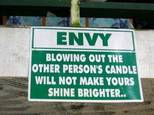 friday quotes : envy