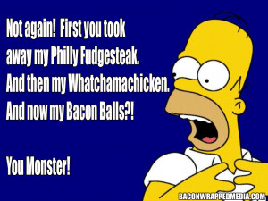 homer simpson bacon quote 2
