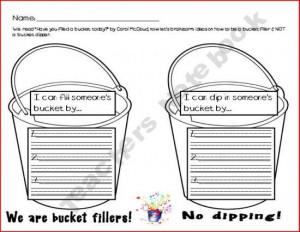 ... teachersnotebook.com/product/MelD/bucket-filling-brainstorming Like