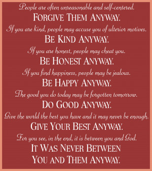 mother teresa quotes do it anyway mother teresa do it