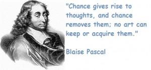 Blaise pascal famous quotes