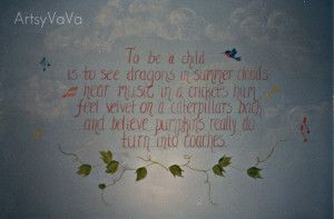 This was painted in a child's bedroom. All the things mentioned in the ...