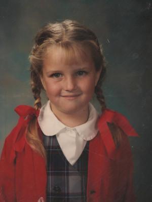Miss Jones at St. Peter's Academy, Kindergarten - 1986