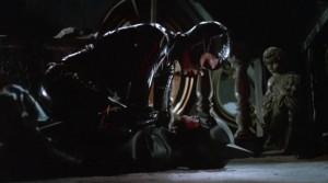 Michelle Pfeiffer (Catwoman) and Michael Keaton (Batman) in Batman ...