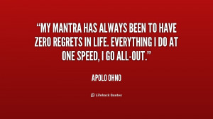 Apolo Ohno Quotes