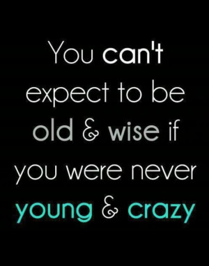 Old & Wise....