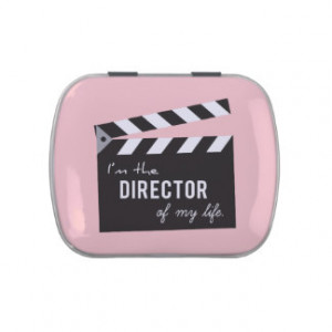 Quote on life, Director Action Board, Slate Candy Tin