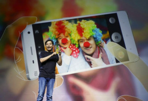 Lei Jun, founder and chief executive officer of China's mobile company ...